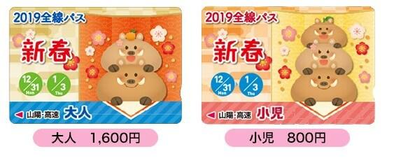 山陽新春pass