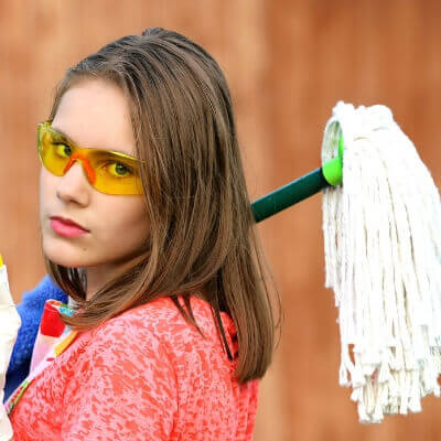 引っ越し時の掃除